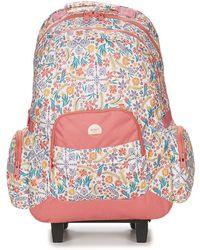 Roxy - Free Spirit Girls's Children's Rucksack In Pink - Lyst
