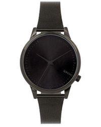 Komono Horloge - Estelle Royale Black - Zwart