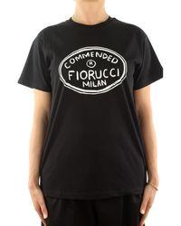 Fiorucci U08TCOM1CBK T-shirt - Noir