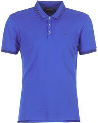 Emporio Armani Polo - Bleu