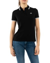 Fred Perry G3600 350 black Polo - Noir