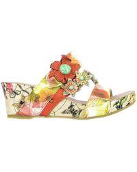 Sandales Rouge Espadrilles Style En Compensées Glamorous Coloris wPXOiuTkZ