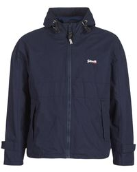 Schott Nyc Windjack Florida - Blauw