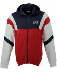 EA7 - Train 7 Colours M Hoodie Fz Coft Sweat-shirt - Lyst