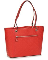 Guess NOELLE ELITE TOTE Cabas - Rouge