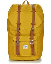 Herschel Supply Co. Rugzak Little America - Geel
