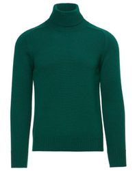 Paolo Pecora MAILLE HOMME Pull - Vert