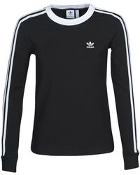 adidas - T-shirt 3 STR LS - Lyst