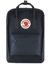 Fjallraven Tas Kanken Re-wool Laptop 15 - Blauw