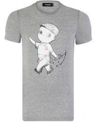 DSquared² 7202 T-shirt - Gris