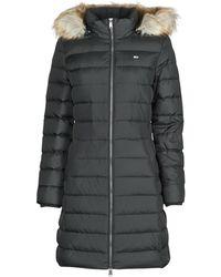 Tommy Hilfiger Donsjas Tjw Essential Hooded Down Coat - Zwart
