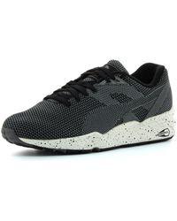 PUMA Lage Sneakers R698 Knit Mesh V2 - Zwart