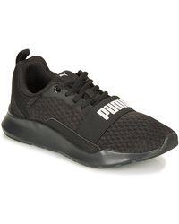 PUMA Lage Sneakers Wired.blk - Zwart