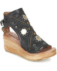 A.S.98 - Noa Women's Sandals In Black - Lyst