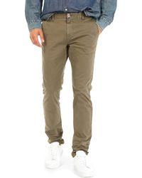 Gas Pantalón chino 360702 - Verde