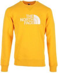 The North Face Jersey Drew Peak Crew - Amarillo