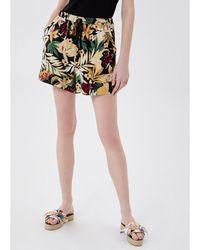 Liu Jo Short avec imprimé tropical Short - Noir