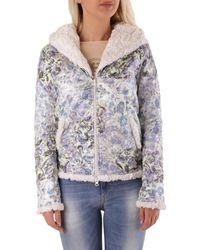 Met Wo Sweatshirt In Mult Jacket - Multicolour