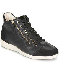 Geox Zapatillas altas MYRIA - Negro