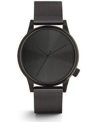 Komono Horloge - Winston Royale Black - Zwart