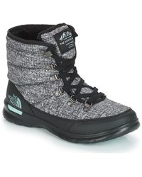 The North Face W THERMOBALL LACE II Bottes neige - Gris