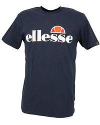 Ellesse T-shirt Prado teeshirt marine - Bleu