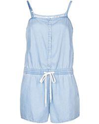 Levi's Jumpsuits Levis Celia Romper Light Mid Wash - Blauw