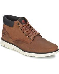 Timberland Hoge Sneakers Bradstreet Chukka Leather - Bruin