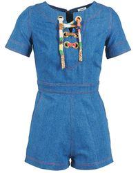 Manoush Jumpsui Lacet - Blauw