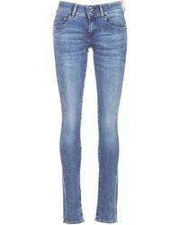 G-Star RAW Skinny Jeans Midge Cody - Blauw