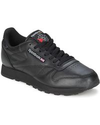 Reebok Lage Sneakers Cl Lthr - Zwart