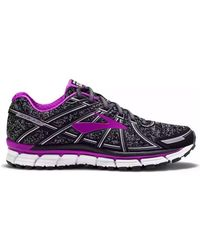 Brooks Brothers - Adrenaline Gts 17 Women's Running Trainers In Black - Lyst