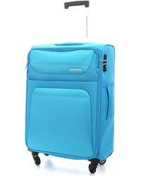 American Tourister Hartschalenkoffer 94A001004 - Blau