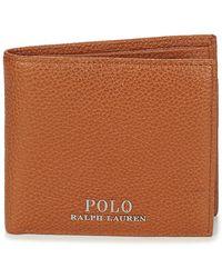 Polo Ralph Lauren Portemonnee Prl Bil Coin-wallet-small - Bruin