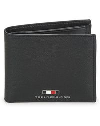 Tommy Hilfiger Portemonnee Business Extra Cc And Coin - Zwart