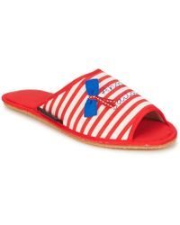 Giesswein - Meersburg Women's Slippers In Red - Lyst