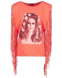 Brigitte Bardot Debardeur - Orange