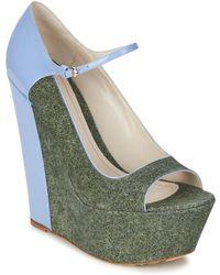 John Galliano Zapatos de tacón S54261 - Azul