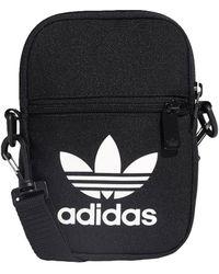 adidas Handtasje Trefoil Festival Bag - Zwart