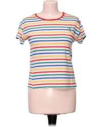 Pull&Bear Top manches courtes - S Blouses - Multicolore