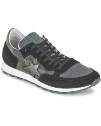 Yurban - Fillio Women's Shoes (trainers) In Grey - Lyst