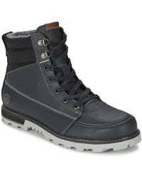 Volcom - Sub Zero Men's Mid Boots In Grey - Lyst
