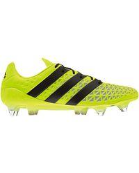 adidas ACE 16.1 SG Chaussures de foot - Jaune