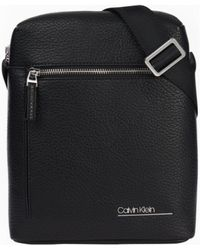 Calvin Klein Reporter Sac Bandouliere - Noir