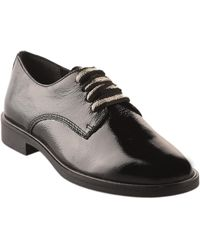 Miglio Derbies Chaussures à lacets femme - - Noir verni - 36