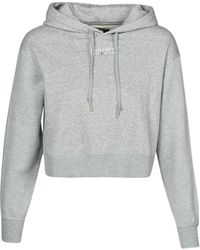 Converse Sweater Womens All Star Po Hoodie - Grijs