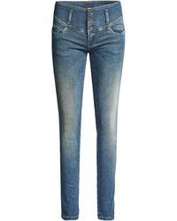 Salsa Jeans Jean Mystery Push Up Skinny - Bleu