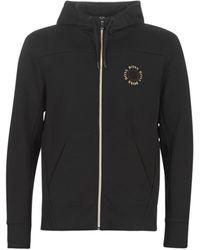 BOSS Sweater SAGGY Circle - Zwart