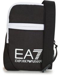 EA7 Handtasje Train Core U Mini Pouch Bag - Zwart