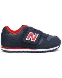 New Balance Sneakers Iv373ca Velcro - Blauw
